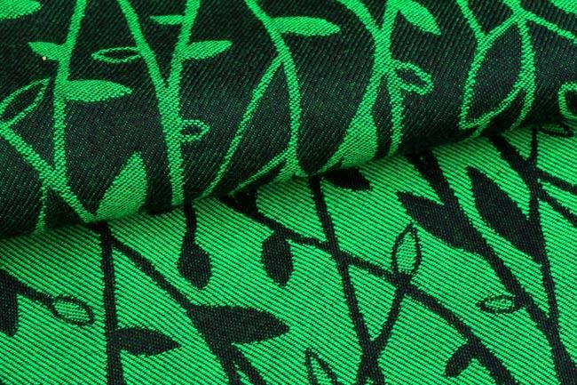 Yaro Slings TWIGS GREEN-BLACK Wrap (wool) str 2