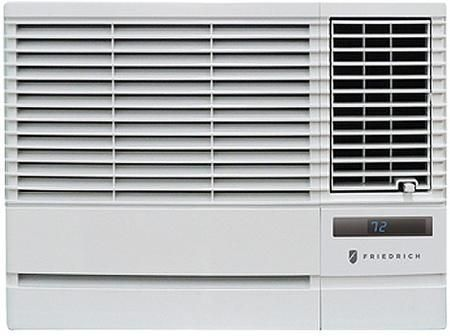 EP18G33B Chill Window Air Conditioner with Heat 18000 BTU Stale Air Exhaust Slideout Chassis Auto Air Sweep Swing Louvers and 4-Way Air Flow Control in White