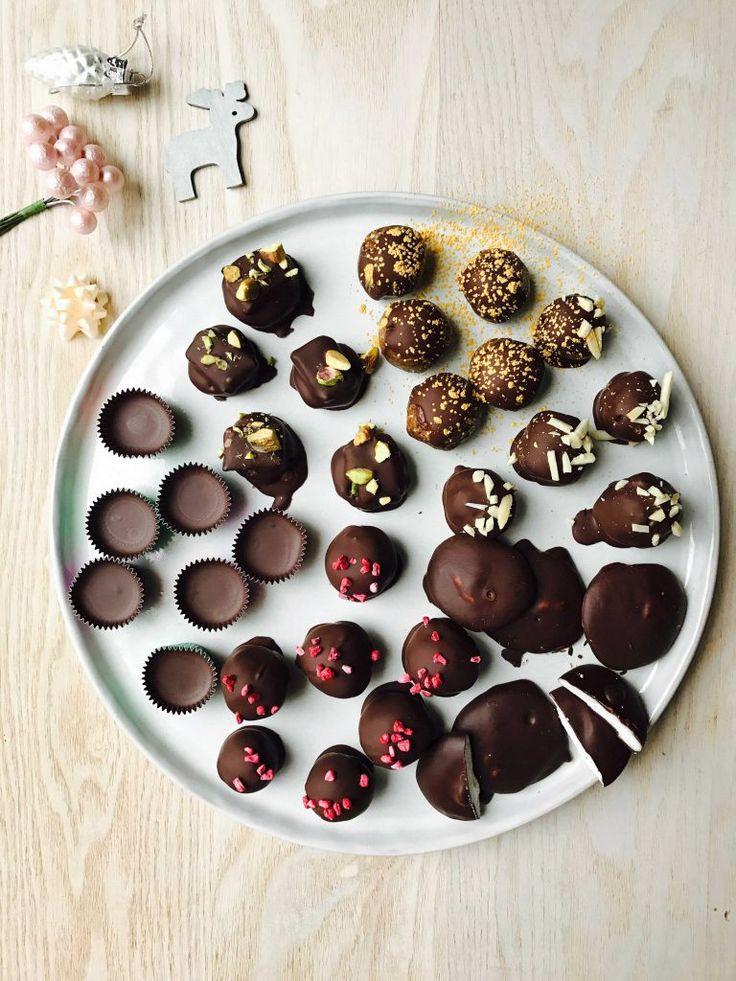 Sunde julegodter uden sukker. Se det store udvalg og opskrifter her: