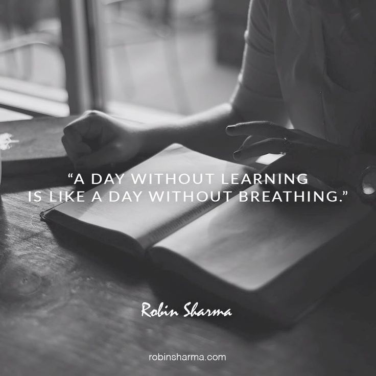 A day without #learning is like a day without #breathing #Look4Studies