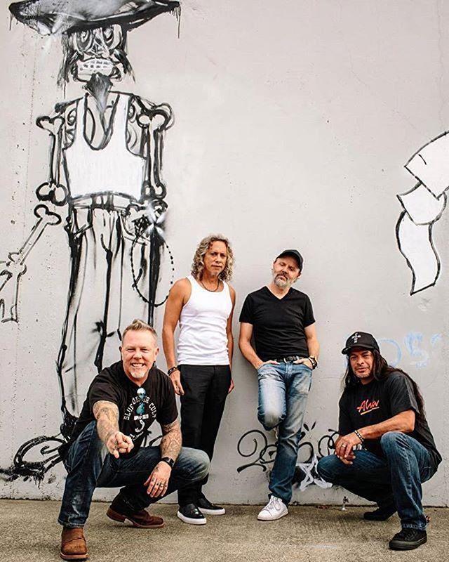 Porque hoje é dia de ouvir a discografia do Metállica! #beard #metallica #rock #barba