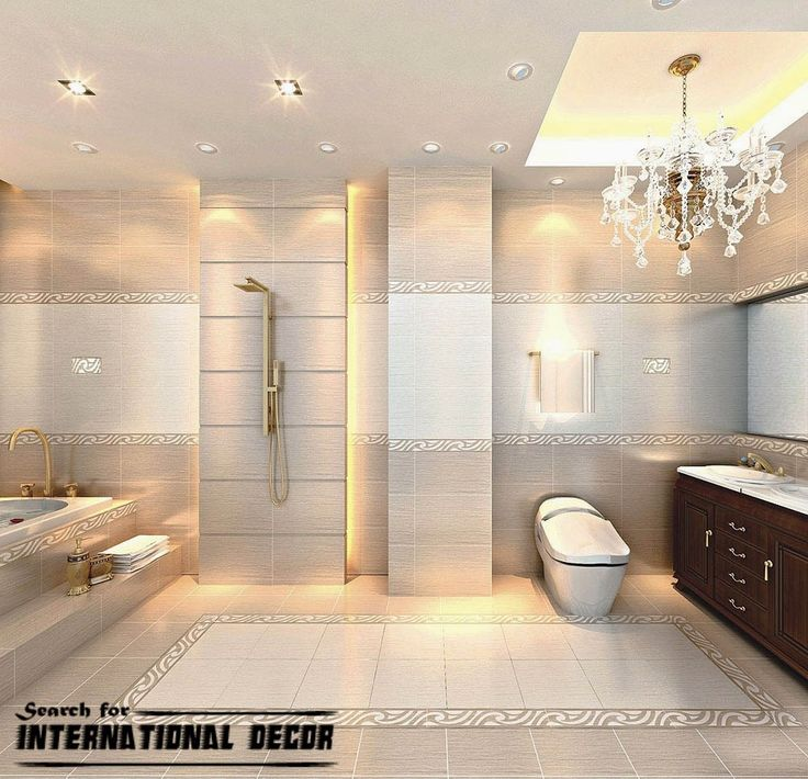 Chinese ceramic tile in the interior bathrooms for Bathroom 00