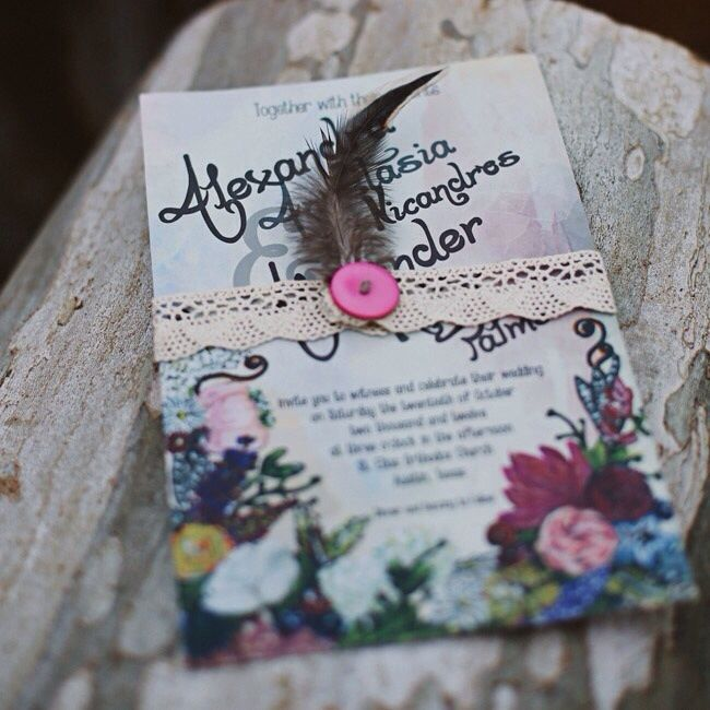 1000+ Ideas About Homemade Invitations On Pinterest