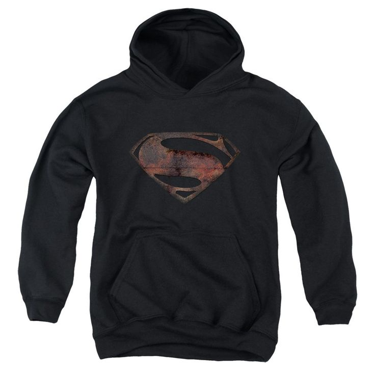 Man Of Steel - Iron Rust Youth Hoodie