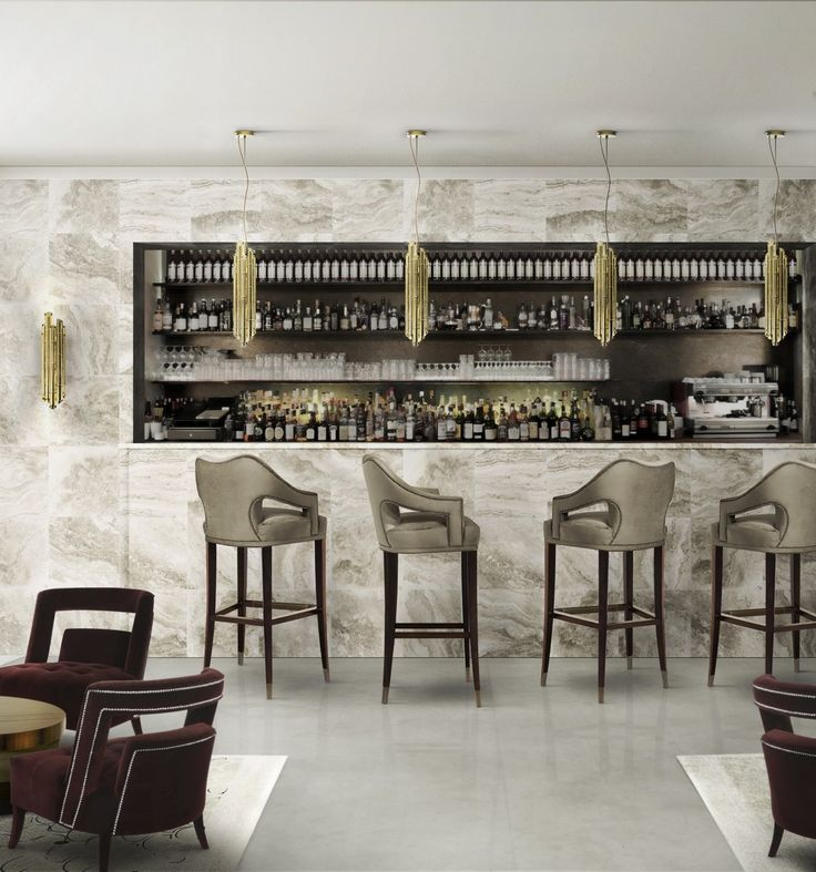 TOP 10 BAR CHAIRS IN HOSPITALITY PROJECTS| Upholstered Bar Chairs | Counter and Bar Stools | Restaurant Design | #counteraandbarstools #upholsteredbarchairs #restaurantinteriors | more @ http://counterandbarstools.eu/top-10-bar-chairs-in-hospitality-projects/