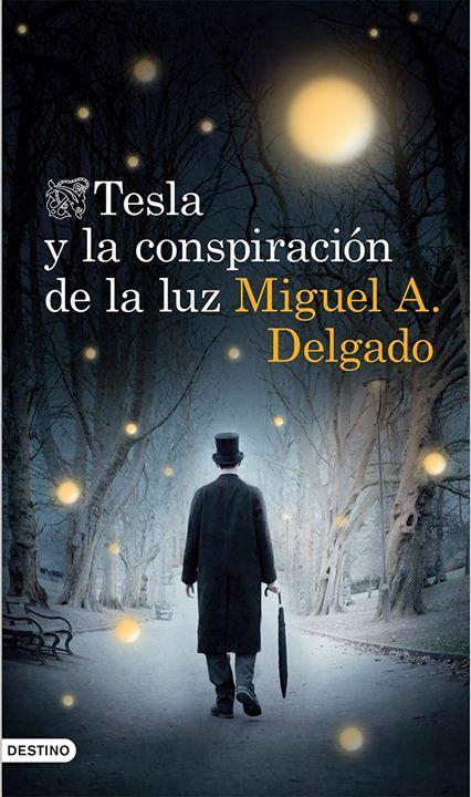 Tesla y la conspiración de la luz / Miguel A. Delgado.  La acción de la novela arranca en un Nueva York ucrónico, el domingo 17 de octubre de 1931. Las ideas de Nikola Tesla, el científico visionario, se han llevado a término: las posibilidades de transmisión inalámbrica de la electricidad han posibilitado todo un mundo nuevo en el que la contaminación no existe, la energía es libre y al alcance de todos, y se ha dado un salto enorme en la evolución tecnológica...