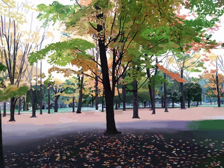 High Park Tree, November 2014