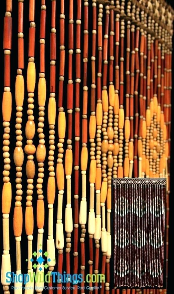 Bamboo Bead Curtain Fantastic Bamboo Beaded Curtains For Doorways