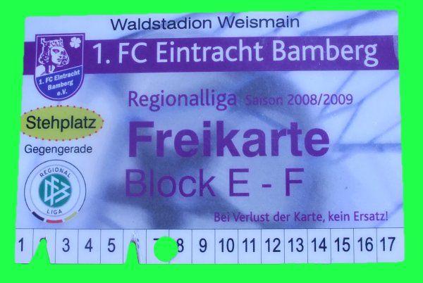 1. fc bamberg   FC Eintracht Bamberg vs. SpVgg Greuther Fürth II 1:1