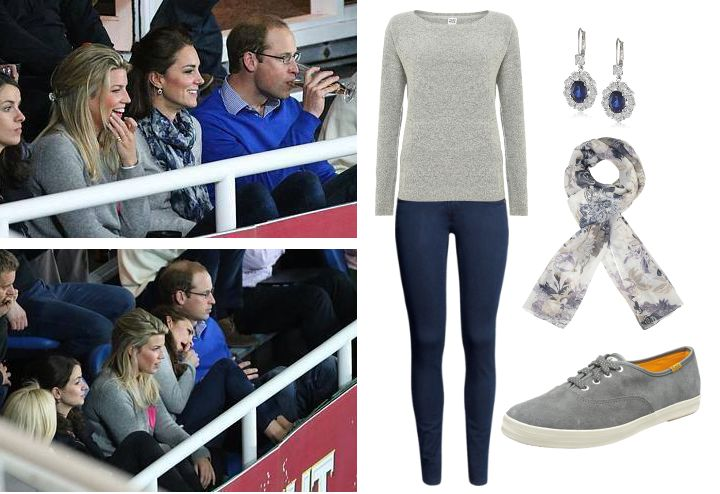 Duchess of Cambridge attends Rugby match in Sydney. SHOP this look for less