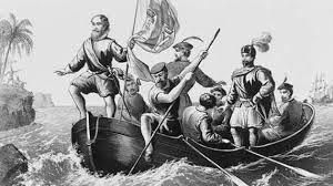 la llegada de  Cristóbal Colón a América.