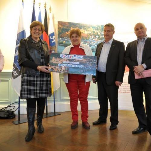 Montpellier : Remise du Prix Unicités - 1er Festival des Villes Jumelles