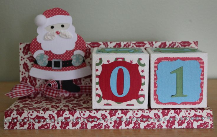 Adventskalender – Scrapbook.com   – DIY Crafts