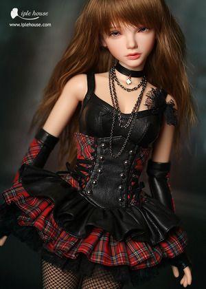 JID_Girl Funky Girl set. Одежда BJD