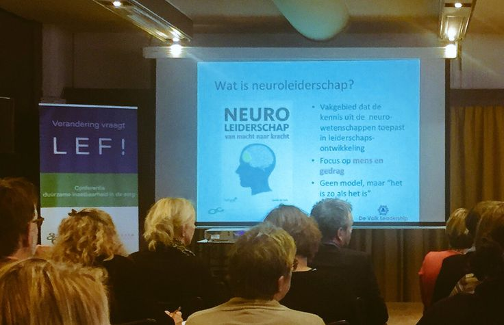 Auteur Guido de Valk tijdens zijn presentatie 'Neuroleiderschap' bij de  inspirerende conferentie duurzame inzetbaarheid in zorg en welzijn van ZorgpleinNoord.  #neuroleiderschap #menselijkleiderschap #guidodevalk #zorgpleinnoord #futurouitgevers