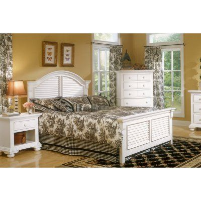 American Woodcrafters Cottage Traditions Panel Bed - AWR954