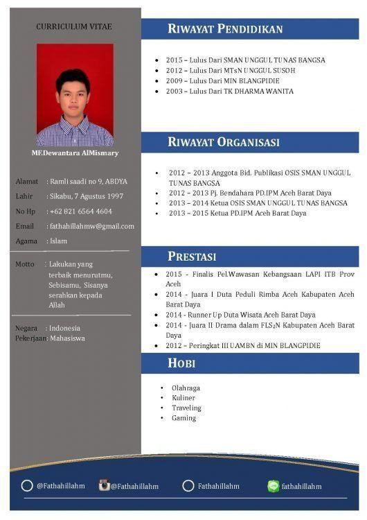 Contoh Cv Fresh Graduate Yang Menarik Resume Design Contoh Design Fresh Graduate Menarik Resume Yang Di 2020 Creative Cv Template Cv Kreatif Desain Cv