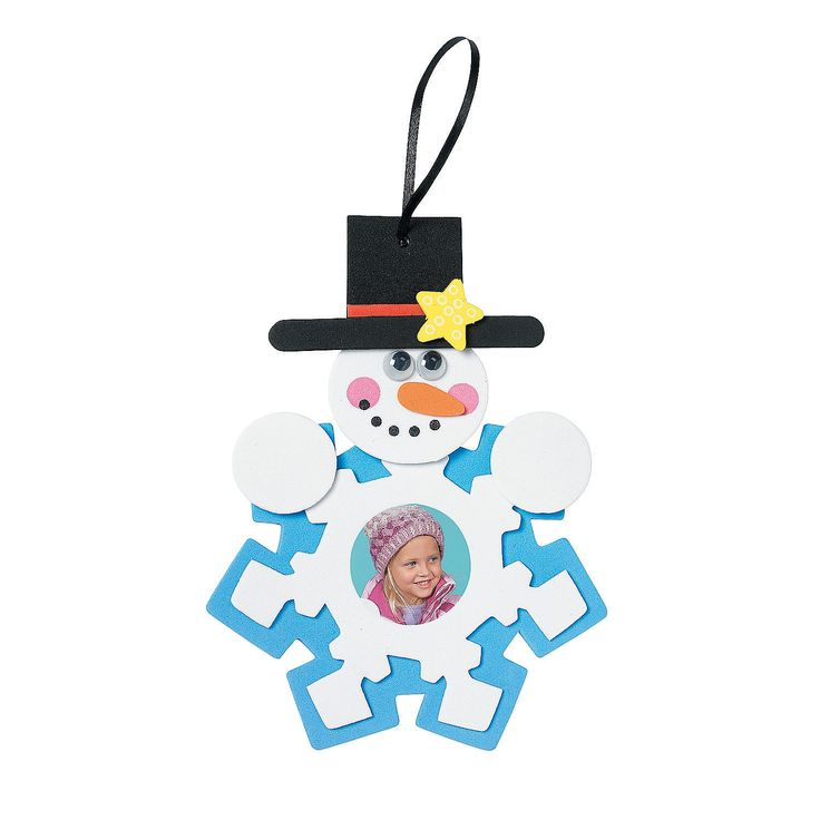 Chrismas Ornament Crafts For Kids