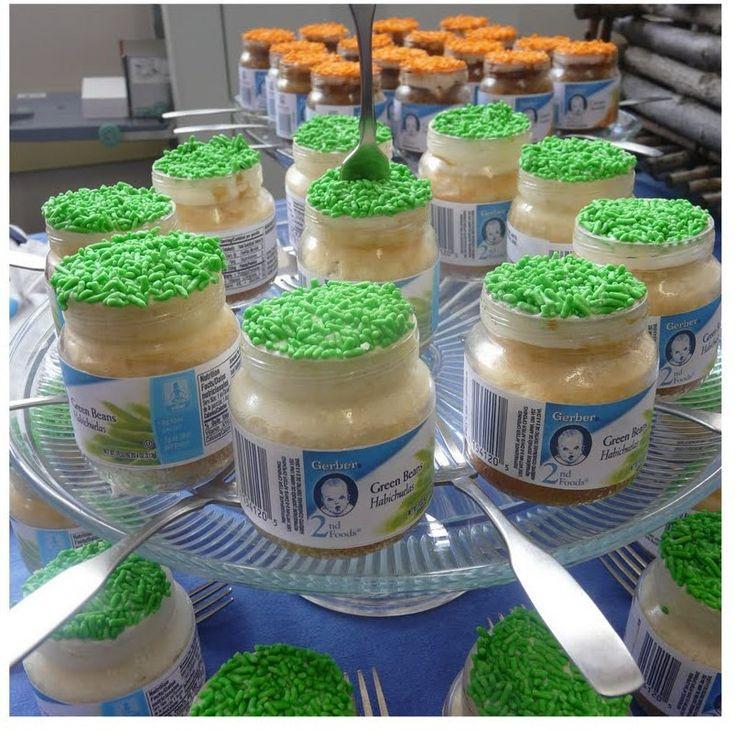 Baby Food Jar Cupcakes