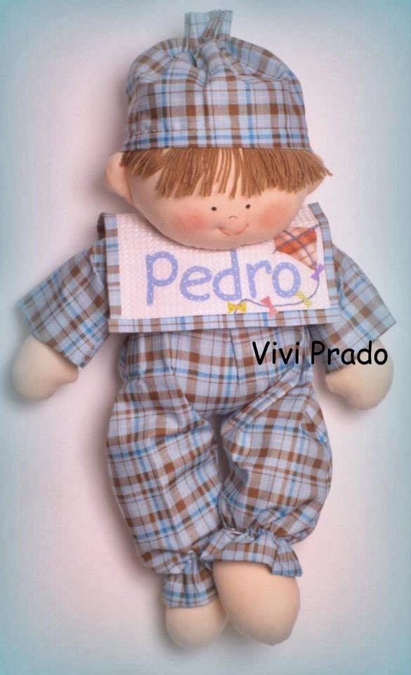 Molde Pedrinho por Vivi Prado
