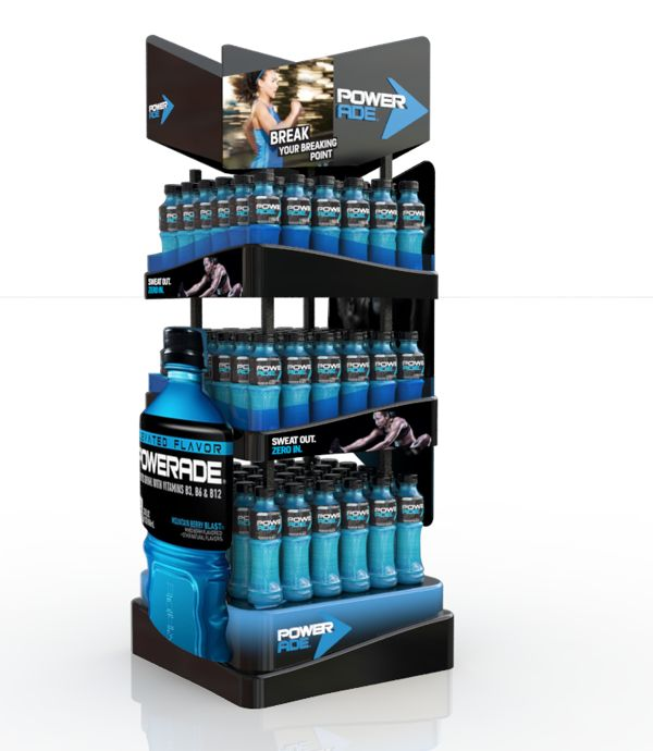 Piezas Powerade Venezuela by andres felipe torres, via Behance