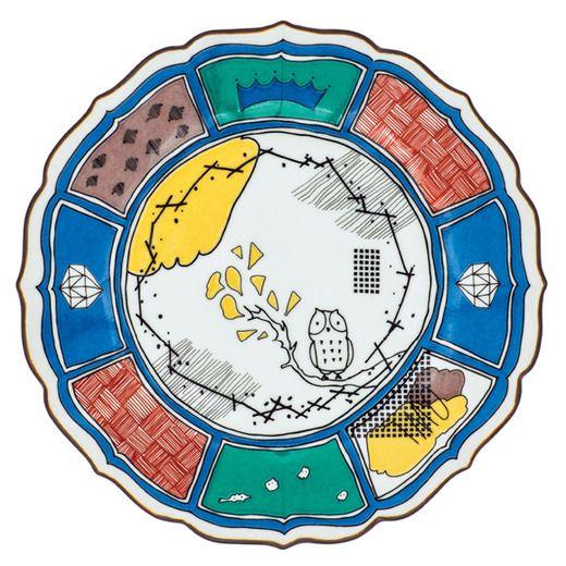 FELISSIMO COLLECTION[フェリシモ コレクション] CNL for 新九谷皿 〈タムラカヨ〉 フェリシモ
