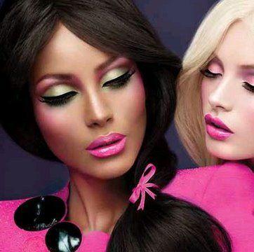 Barbie Loves MAC Makeup Look
