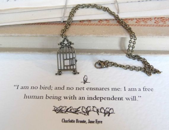 Charlotte Bronte | 16 Stunning Minimalist Necklaces Inspired By Famous Authors