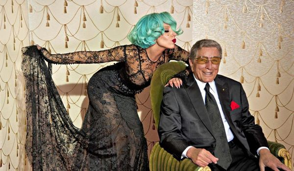 Back in August, news leaked of a new duet that Lady Gaga was recording with the legendary Tony Bennett for his Duets II album. Gaga was wearing one of my favorite designs from Ford's F/W 2011 Collection...