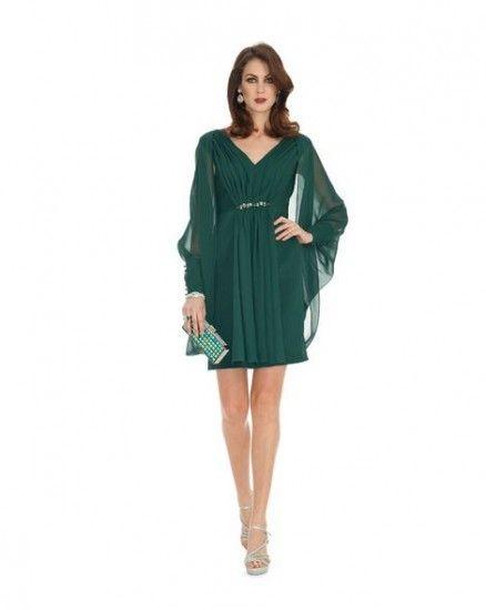 I Trend degli Abiti da Cerimonia 2015 Luisa Spagnoli in 8 Modelli Abiti da cerimonia 2015 Luisa Spagnoli verde