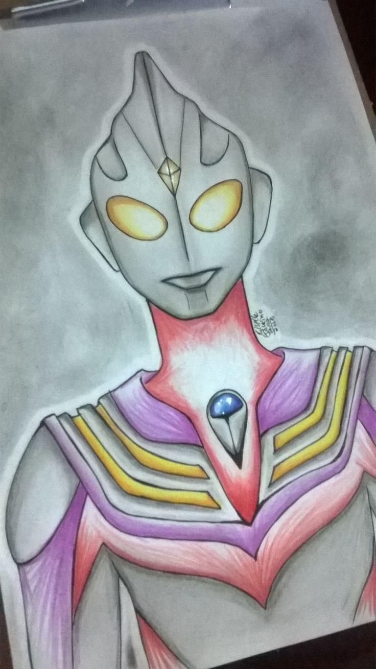 Ultraman Tiga! *o*
