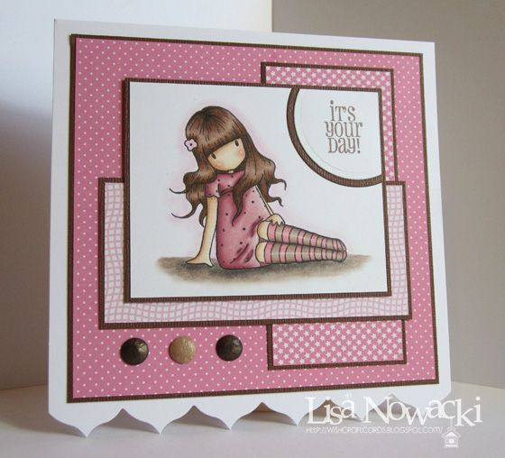 4/27/2011; Lisa Nowacki at 'Wishcraft' blog; Pink & Brown Gorjuss Girl