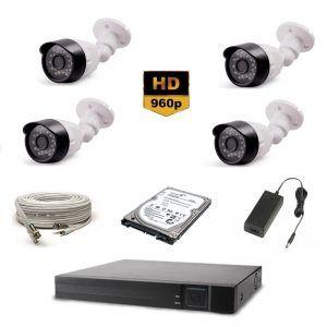 4'Lü AHD HD Güvenlik Kamera Seti 695.00 TL