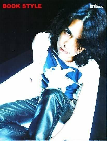 Everything about this outfit. Simple. Edgy. Cool. d( ̄  ̄) Hyde. VAMPS. Larc~en~Ciel.