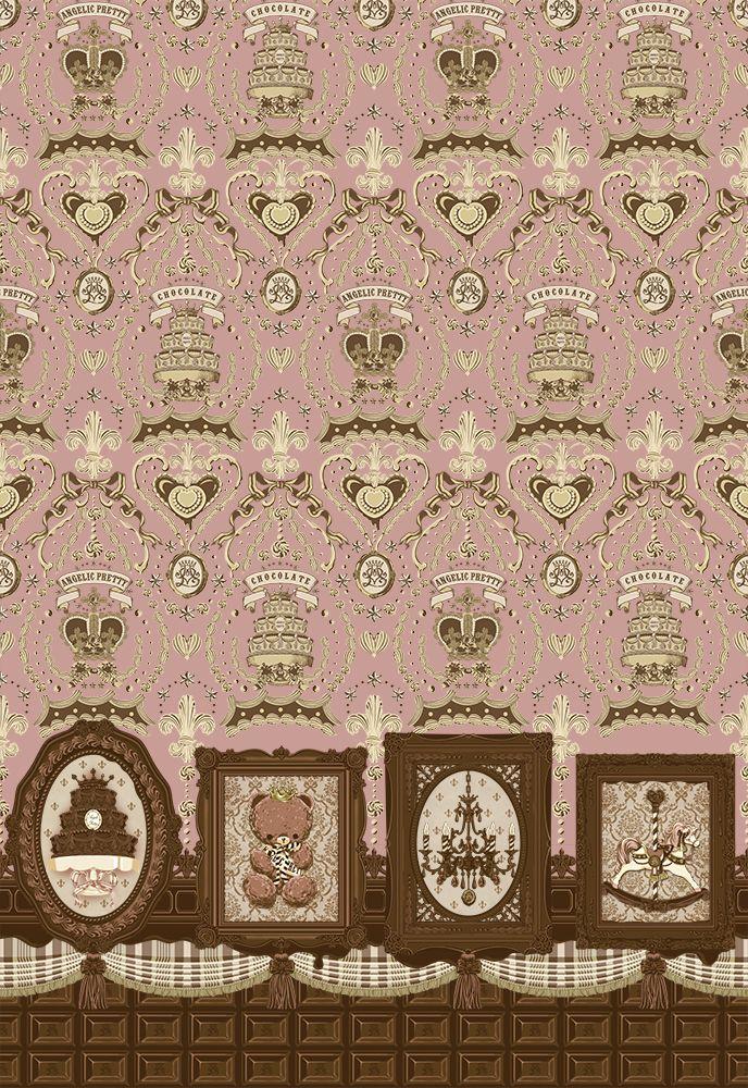 Angelic Pretty :: Musee du Chocolat Lolita Print