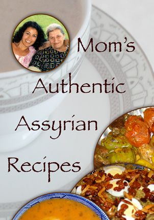 Mom's Authentic Assyrian Recipes Cookbook contains wonderful Assyrian/Chaldean recipes. This site also features videos with recipe demonstrations by the author.