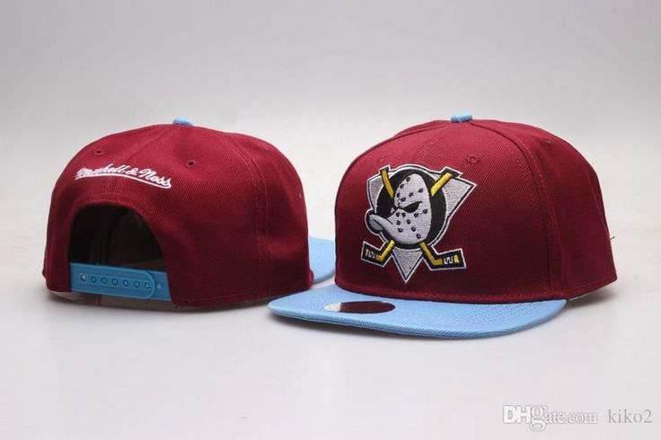 2017 Mighty Hockey Snapback Hats Anaheim Ducks bone cap Flat Fashion Hats sports Cheap mens & women baseball caps