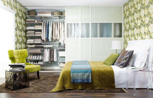 Хранение в маленькой спальне: трюки и идеи | Свежие идеи дизайна интерьеров, декора, архитектуры на InMyRoom.ru