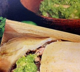 Picture of Chicken Tamales Authentic Mexican Recipe - Item No. 452-chicken-tamales