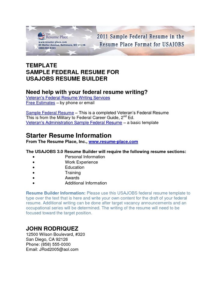 free military civilian resume builder with regard veteran student - sample of federal resume