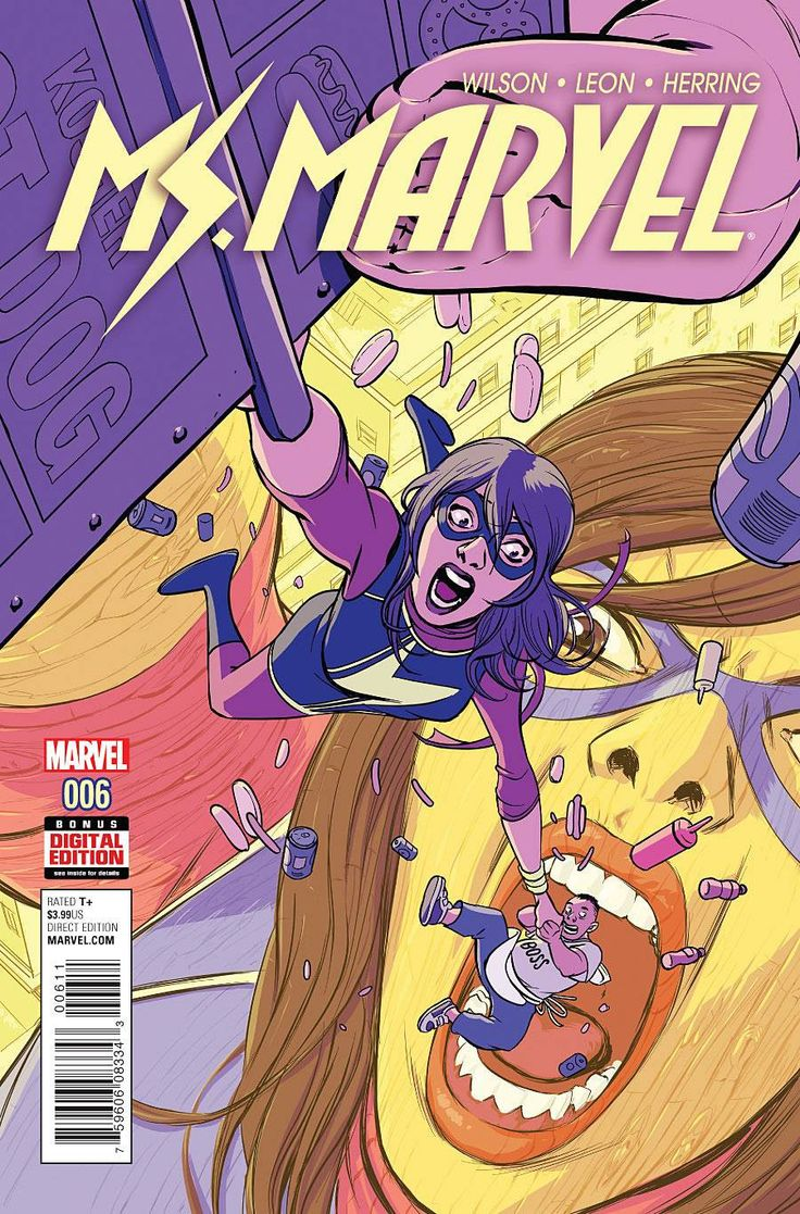 Buy Ms Marvel #6 At Georgetownics For Only $ 199