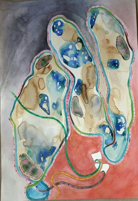 Ilaria Finetti|acquerello su carta