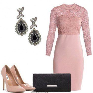 Outfit Cerimonia in stile romantico