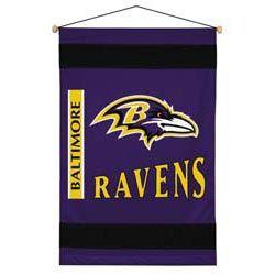 Baltimore Ravens Sidelines Wall Hanging