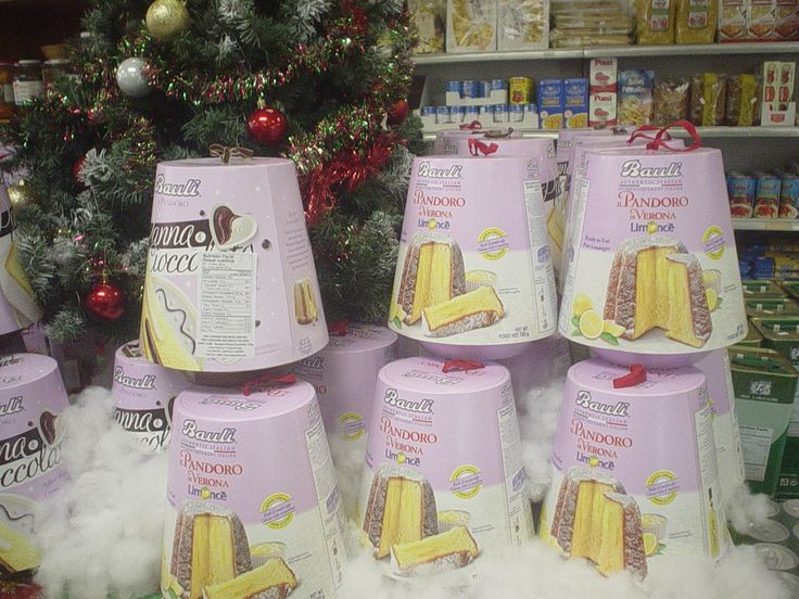 Love these Pandoro holiday cakes -- great for dessert (or toasting for breakfast or snacks)! Lots of choose from at our store this week.