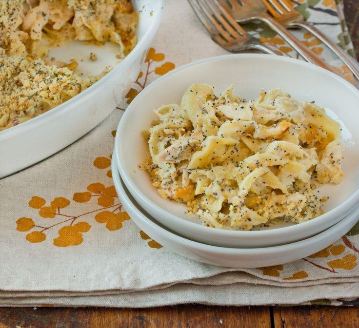 Poppy Seed Chicken Casserole #hotdish #hearty #winter