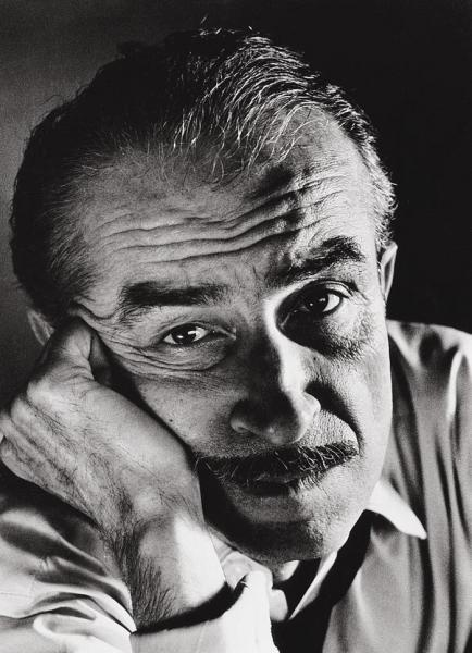 Orhan Kemal (turkish author) by Ara Güler