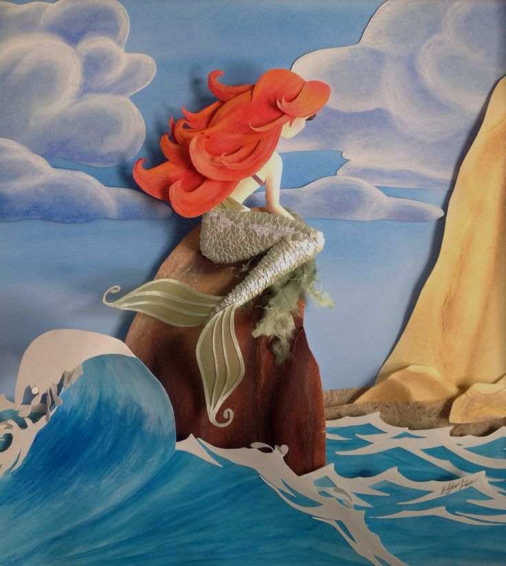 Ariel paper sculpture