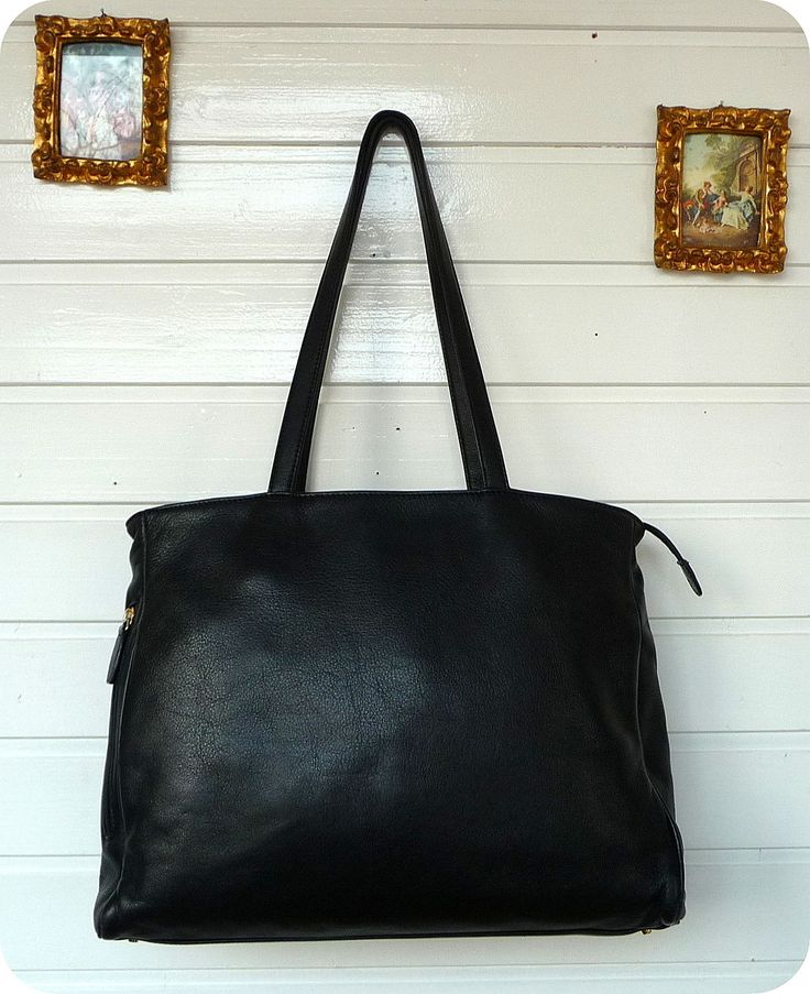 luxus offermann leder xxl tasche schultertasche bag handtasche purse leather ebay bags. Black Bedroom Furniture Sets. Home Design Ideas