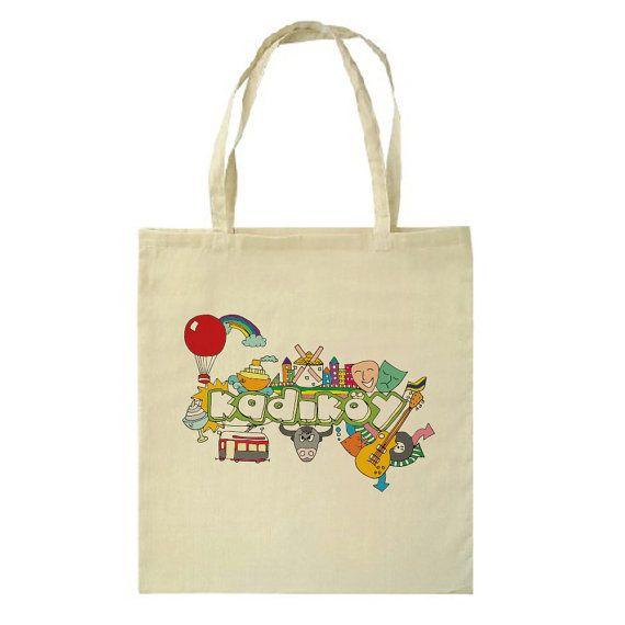 Kadikoy Illustration Tote Bag by HappyMarker on Etsy